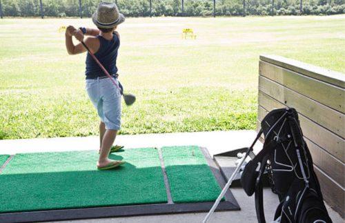 女性ゴルファー初心者上達方法