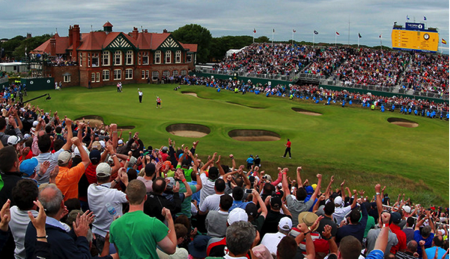 イギリスの有名メジャートーナメント ゴルフコース