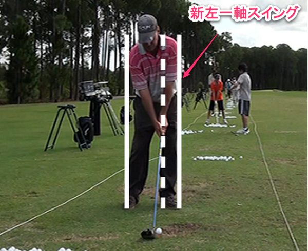 新左一軸ゴルフ上達プログラム ゴルフ上達方法