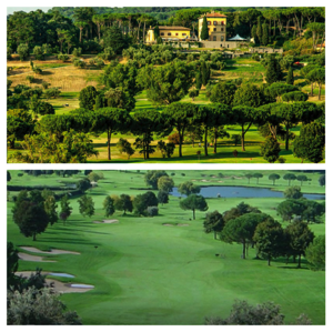 イタリア ローマ郊外のゴルフコース案内とお薦めレストラン