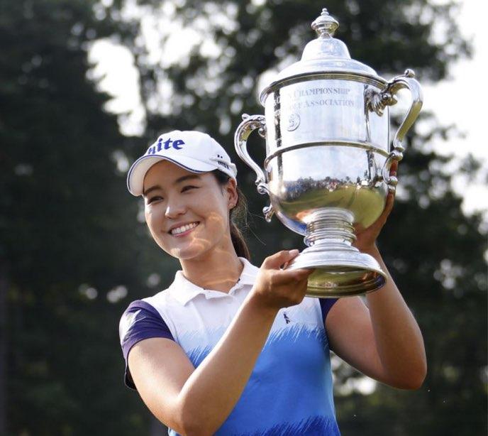 チョン・インジ 全米女子オープン優勝まだ現役大学生のクラブセッティング
