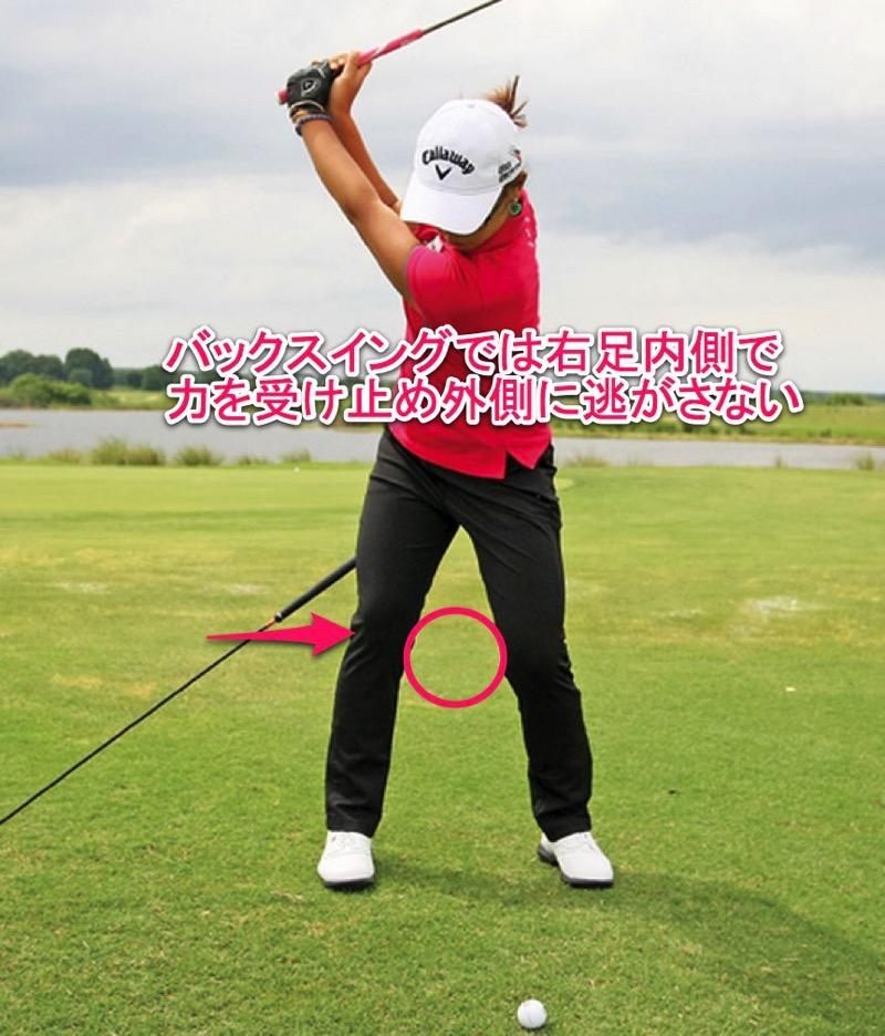 ゴルフ ドライバーで飛距離を伸す方法は、両足の使い方