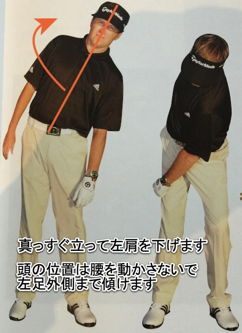 【スタック & チルト】ゴルフスイングは一軸スイングが主流