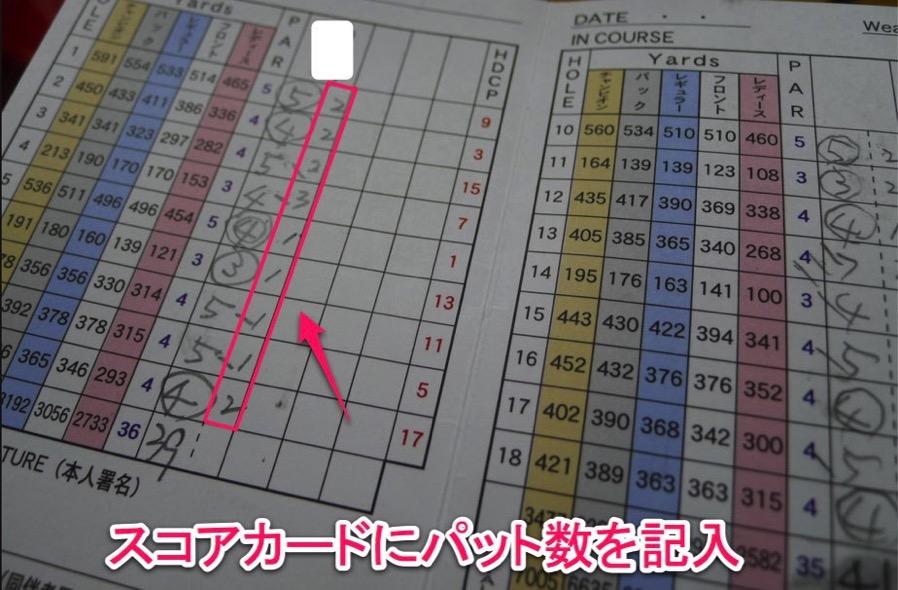【ゴルフパター数でシングル目指す】スコアをよくする方法