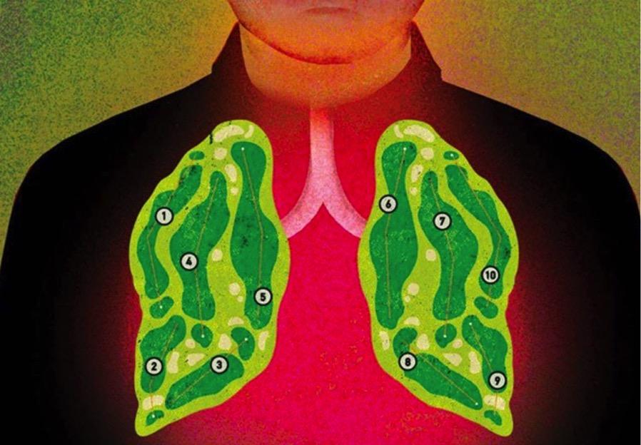 【ゴルフ 呼吸法】とリラクセーション