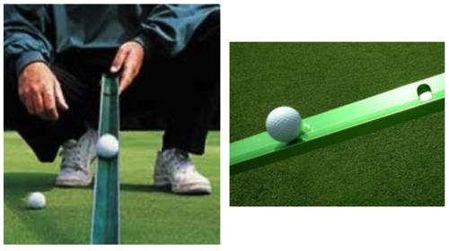 【ゴルフ グリーンのスピードの計測方法スティンプメーター (Stimpmeter)】 グリーンのコンディション 距離間