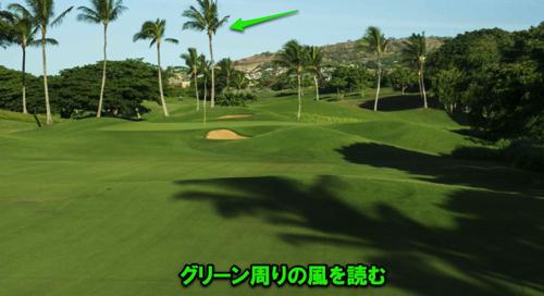 ゴルフ 風の強い日の対策とクラブでの距離間