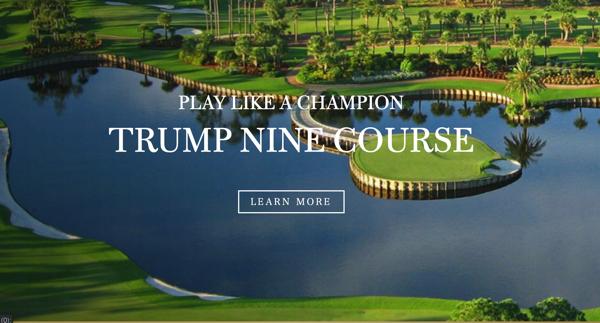 ドナルド・J・トランプ経営のゴルフ コース