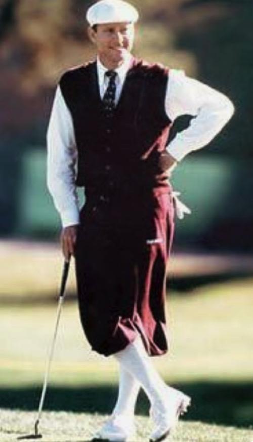 ゴルフファッション 昔のイギリス?ゴルフウェアについて ニッカーボッカー?