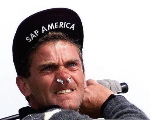 花粉症ゴルファー対策は?